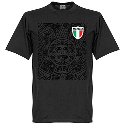 Mexiko 1998 Aztec T-Shirt - schwarz - L -