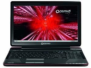 """Toshiba Qosmio F750-12R PQF75E-06100PFR PC Portable Gamer 15,6"""" (39,6 cm) Intel core i7-2670QM 750 Go 8192 Mo Windows 7 Carte graphique Nvidia 540M Noir/Rouge"""