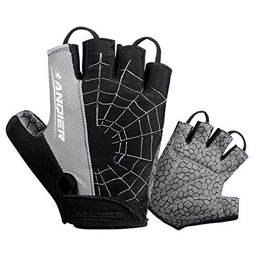 coskefy Cycling Gloves Mountain Road Bike Gloves Gel Padded Riding Gloves MTB Gloves Sports Gloves (Half Finger & Full Finger)