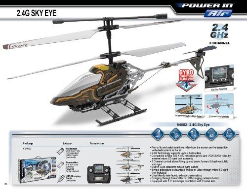 Silverlit Sky Eye 3-Kanal Helikopter + Kamera - 8