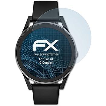 atFoliX Film Protection décran Compatible avec Fossil Q Control Protecteur décran, Ultra-Clair FX Écran Protecteur (3X)