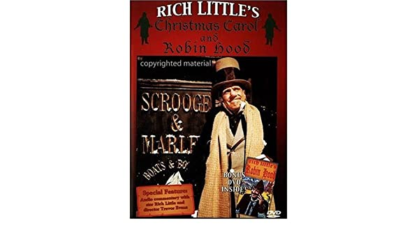 Rich Little's Christmas Carol & Robin Hood DVD Region 1 US Import ...