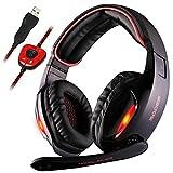 Best Cuffie da ufficio - Sades SA902 Dolby Stereo Surround 7.1 USB Cuffia Review