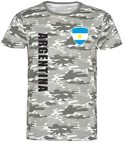 Nation Argentinien T-Shirt Camouflage wspa Army (M) Gaucho Steak