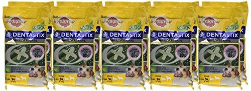 Pedigree DentaStix Fresh Hundesnack für kleine Hunde (5-10kg), Zahnpflege-Snack mit Eukalyptusöl und Grüner Tee-Extrakt, 10 Packungen je 7 Stück (10 x 110 g) - 2