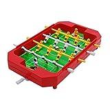TOYMYTOY Mini Tischfußball Spiel Tischkicker Fußball Spielzeug Partyspiel Geburtstag Geschenk für Kinder (Zufällige Farbe)