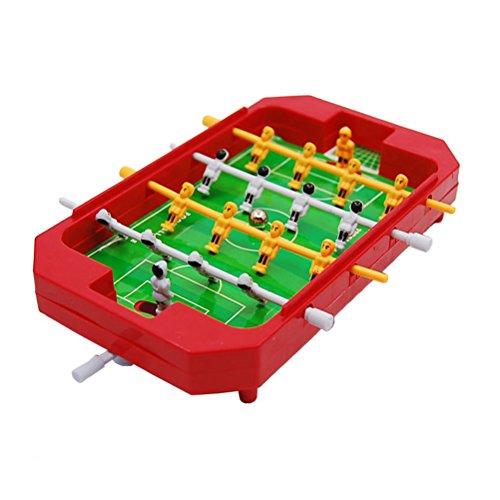 Kinder-spiel-fußball-trikot (TOYMYTOY Mini Tischfußball Spiel Tischkicker Fußball Spielzeug Partyspiel Geburtstag Geschenk für Kinder (Zufällige Farbe))