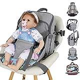 Sweeho BP159 Sac à Dos pour bébé avec Ceinture de sécurité pour Maman et Papa,...