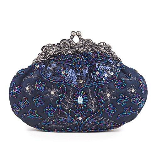Farfalla - 90404, Stringate Donna Blu (Blu)