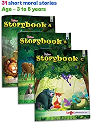 Blossom Moral Story Book for Kids 3 Years to 8 Years Old in English | 93 Colorful Picture Story Fairy Tales fo