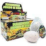 JustRean Toys XXL Dino Schlüpf Ei 11cm - Magic Growing Egg Jumbo Dinosaurier Schlüpfei
