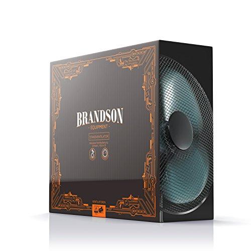 Brandson – Standventilator 40cm / schwarz - 7