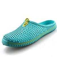 Juleya Unisex Pantofole Chiuse Davanti Scarpe Donna Uomo Slipers Sandali  Spiaggia Scarpe Cavo su Pantofole All 69df080a482