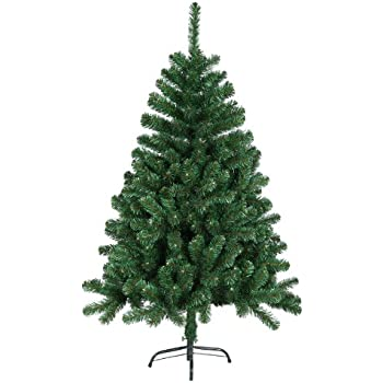 120 cm 360 spitzen k nstlicher weihnachtsbaum tannenbaum christbaum in gr n inkl. Black Bedroom Furniture Sets. Home Design Ideas