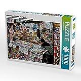 Zeitschriften Kiosk in Shanghai 1000 Teile Puzzle Quer