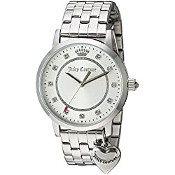 Juicy Couture Women's 'Socialite' Quartz Stainless Steel Automatic Watch, Color:Silver-Toned (Model: 1901474)