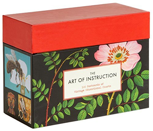 The Art of Instruction: Postcards: 100 Postcards of Vintage Educational Charts by Chronicle Books (2012-10-10)