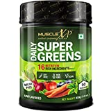 MuscleXP Sugar-free Daily SuperGreens with 16 Nutrition Rich SuperFood