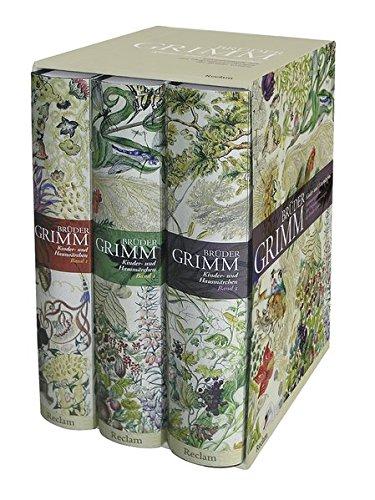 Preisvergleich Produktbild Kinder- und Hausmärchen: Ausgabe letzter Hand mit den Originalanmerkungen der Brüder Grimm. Drei Bände in einer Kassette