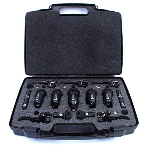 drum-microphones-set-nordell-7-piece-mic-kit-5-rim-mic-clips-in-hard-carry-case
