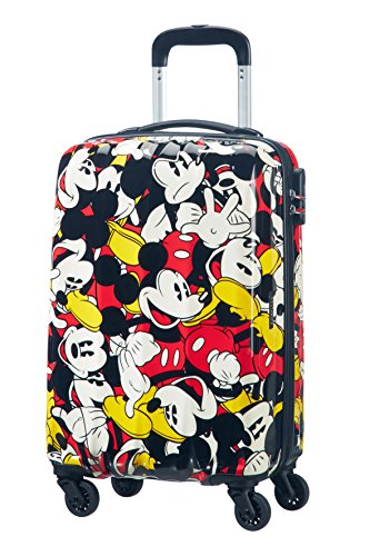 American tourister – Disney Legends – Maleta Spinner 55/20 Alfatwist 2.0, 55 cm, 36 L, 3.2 KG Multicolour (Mickey Comics)