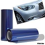 Calistouk Vinilo adhesivo para faros delanteros de coche, 30 x 100 cm
