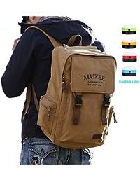 Ranbow bolsos grandes mochila de lona mochila cuadrada mochila mochila