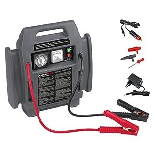 POWER plus Powerstation 4-in-1 Pannenhilfe Auto Starthilfe 500 mA Kompressor Notleuchte