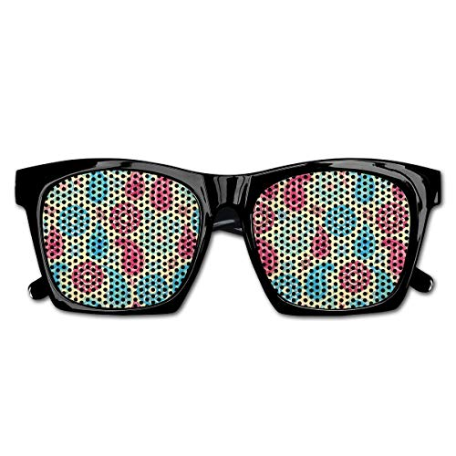 Mesh Sunglasses Sports Polarized, Retro Style Paisley Patterns and Flowers Ethnic Design Home Decor,Fun Props Party Favors Gift Unisex