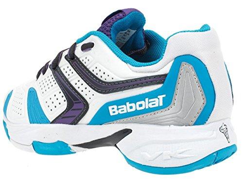Babolat - Drive 3 lady blc bl vio - Chaussures tennis Blanc