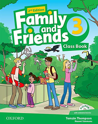 Family and Friends 3 : Class Book