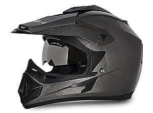Vega Off Road OR-D/V-A_L Full Face Helmet (Anthracite, L)