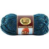 Lion Brand Yarn Company 1 pièce Hometown USA Yarn, Bleu du lac Tahoe