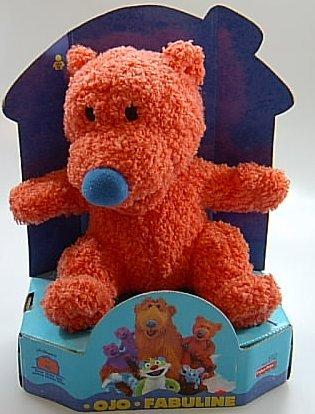 Fisher-Price Der Bär im großen blauen Haus - Ojo Plüschfigur