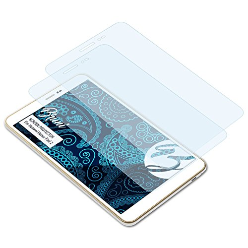 Bruni Schutzfolie kompatibel mit Huawei Honor Pad 2 Folie, glasklare Bildschirmschutzfolie (2X)
