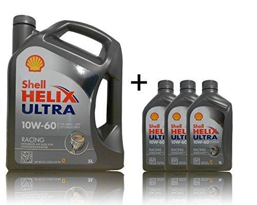Shell 10W-60 Helix Ultra Racing - 10W60 5+3 Liter