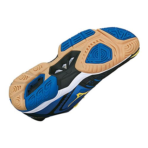 Mizuno  Wave Stealth 3, Chaussures de Handball femme - Bleu/blanc