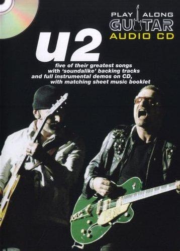 PLAY ALONG GTR+CD U2 por U2