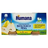 Humana Omogeneizzato Pera Bio - 12 Vasetti da 100 gr