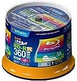 50 Verbatim Bluray BD-R DL 50GB Dual Layer 6x Speed Inkjet Printable Blu-Ray Discs