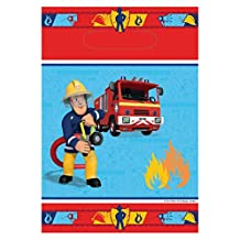 Net Toys Sam el bombero - Decoración infantil para fiesta de cumpleaños, ideal para decorar estancias y mesas, diseño con Sam el bombero