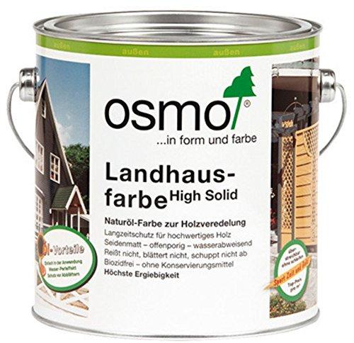 OSMO Landhausfarbe High Solid 2,5 Liter Karminrot 2311