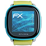 atFoliX Displayschutzfolie für XPlora Kids Schutzfolie - 3 x FX-Clear kristallklare Folie