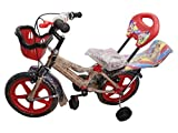 Global Bikes Spider 14T (Red) Kids Bicycle for 2 to 5 Years Fully