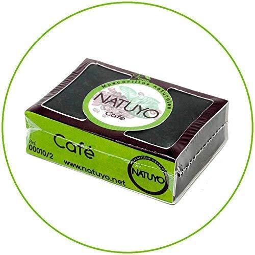 - Mascarilla jabón NATUYO exfoliante CAFÉ.-