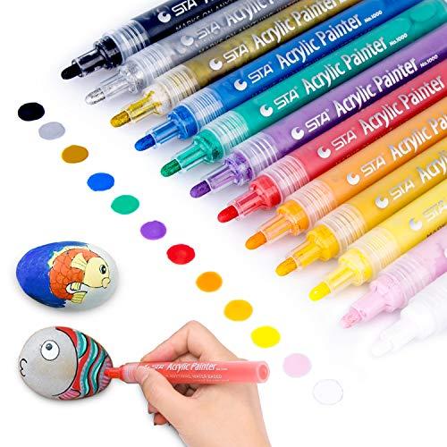 neon und normalfarbe Sets mit je 5 Farben Textil-Malstifte waschbar