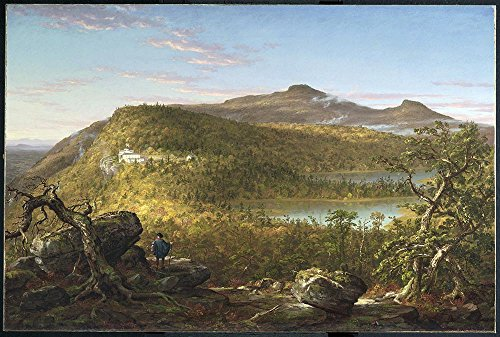 Das Museum Outlet - Thomas Cole - Catskill Berge - A3 Größe Poster Print Online