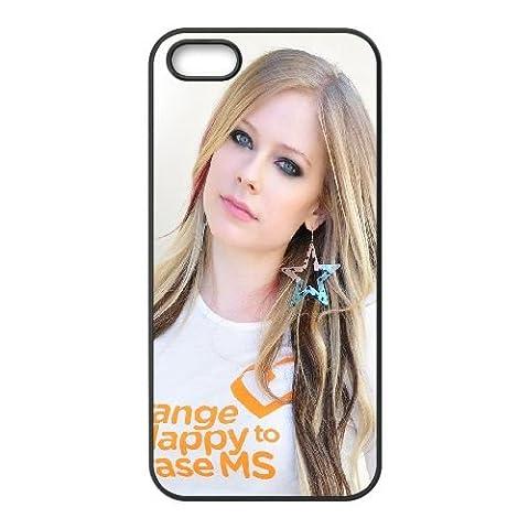 Avril Lavigne Earrings T Shirt Hair Girl coque iPhone 5