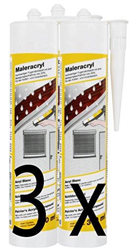 maleracryl-weiss-3x-a-310ml-elastische-einkomponentige-fugendichtungsmasse-auf-acryldispersionsbasis