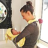 Minene enfants bébé Serviette de bain à capuche Tablier avec ours oreilles, 70x...